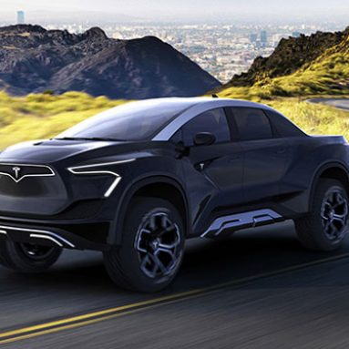 Tesla's All-Electric Pickup Truck – Concept