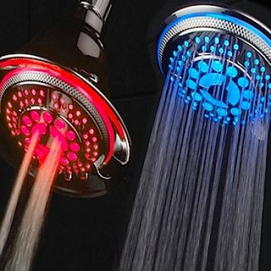 The Color Changing Shower Head