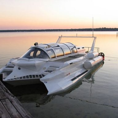 The Hyper-Sub Speedboat/Submarine