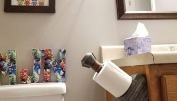 Thor's Hammer Toilet Paper Holders