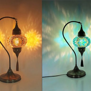 Turkish Mosaic Table Lamps