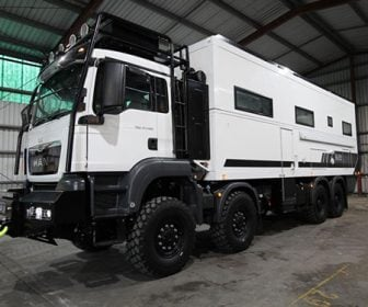 Monstrous 8×8 Two-Story Overlanding Rig