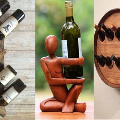 23 Stylish & Unique Wine Racks You Can Buy