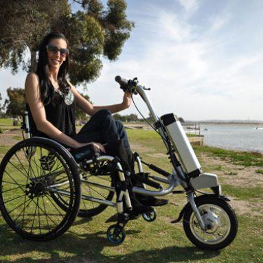 Wheelchair Bike Attachment