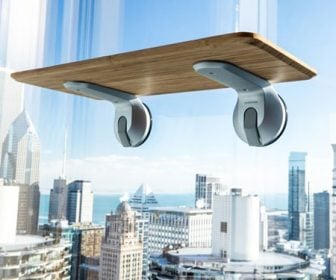 Window-Mounted Standing Desks