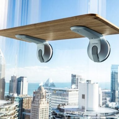 Window-Mounted Standing Desks