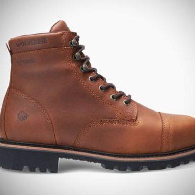 Wolverine Journeyman Work Boots