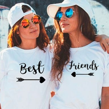 Best Friend Shirts – 37 Greatest Matching Shirts For Best Friends!