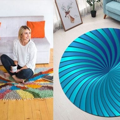 31 Coolest Bedroom Rugs & Carpets You Can Buy
