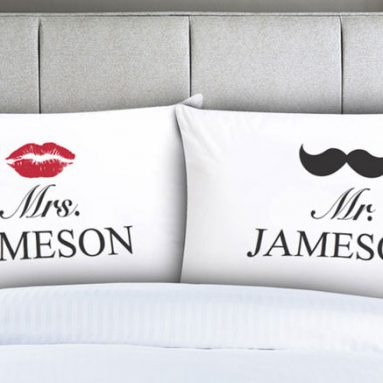 30 Cutest Couples PillowCases For Him and Her You Can Buy