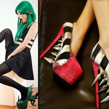 29 Very Funny Shoes That Are Crazy Cool Fun!