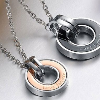 43 Matching His And Hers Necklaces For Boyfriend And Girlfriends
