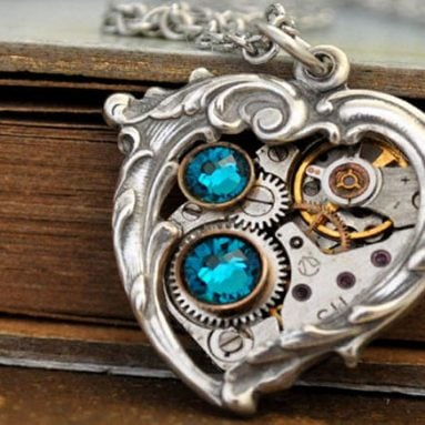 50 Magical Steampunk Necklaces & Pendants You Can Buy