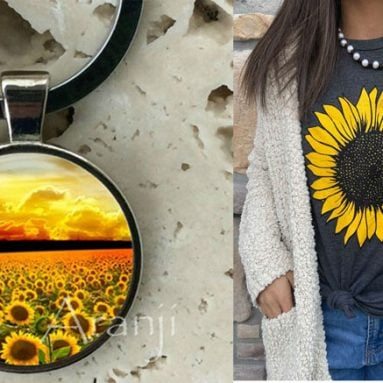 21 Sunflower Gift Ideas For Sunflower Lovers