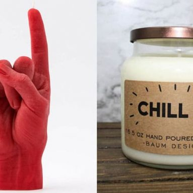 27 Cool, Fun & Unique Candles You Can Buy