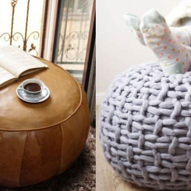 31 Cool & Unique Ottomans & Poufs You Can Buy
